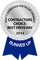 brett approved installer of the year 2012 contractor