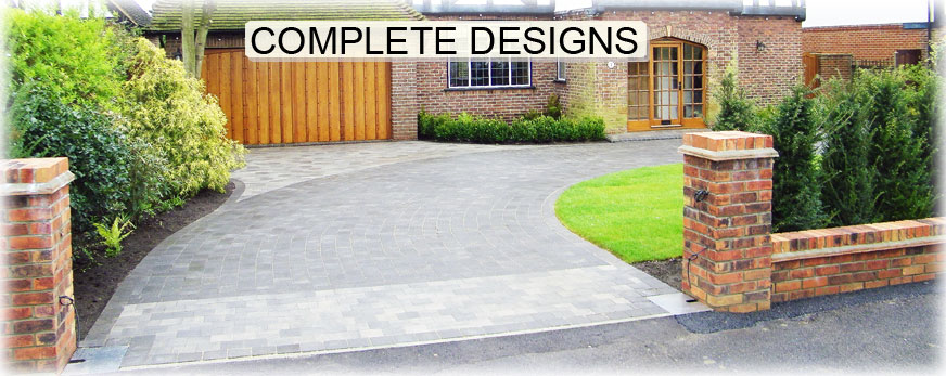we design complete driveway paving solutions